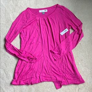 Nursing long sleeve shirt